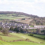 View of Northend and Bannerdown in 2002